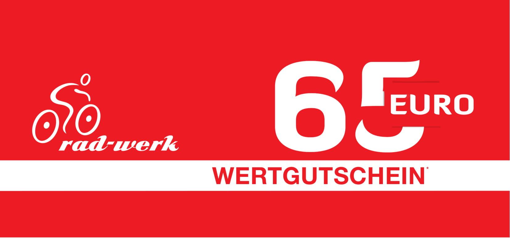 Gutschein 65 Rad-Werk Zingelmann  -