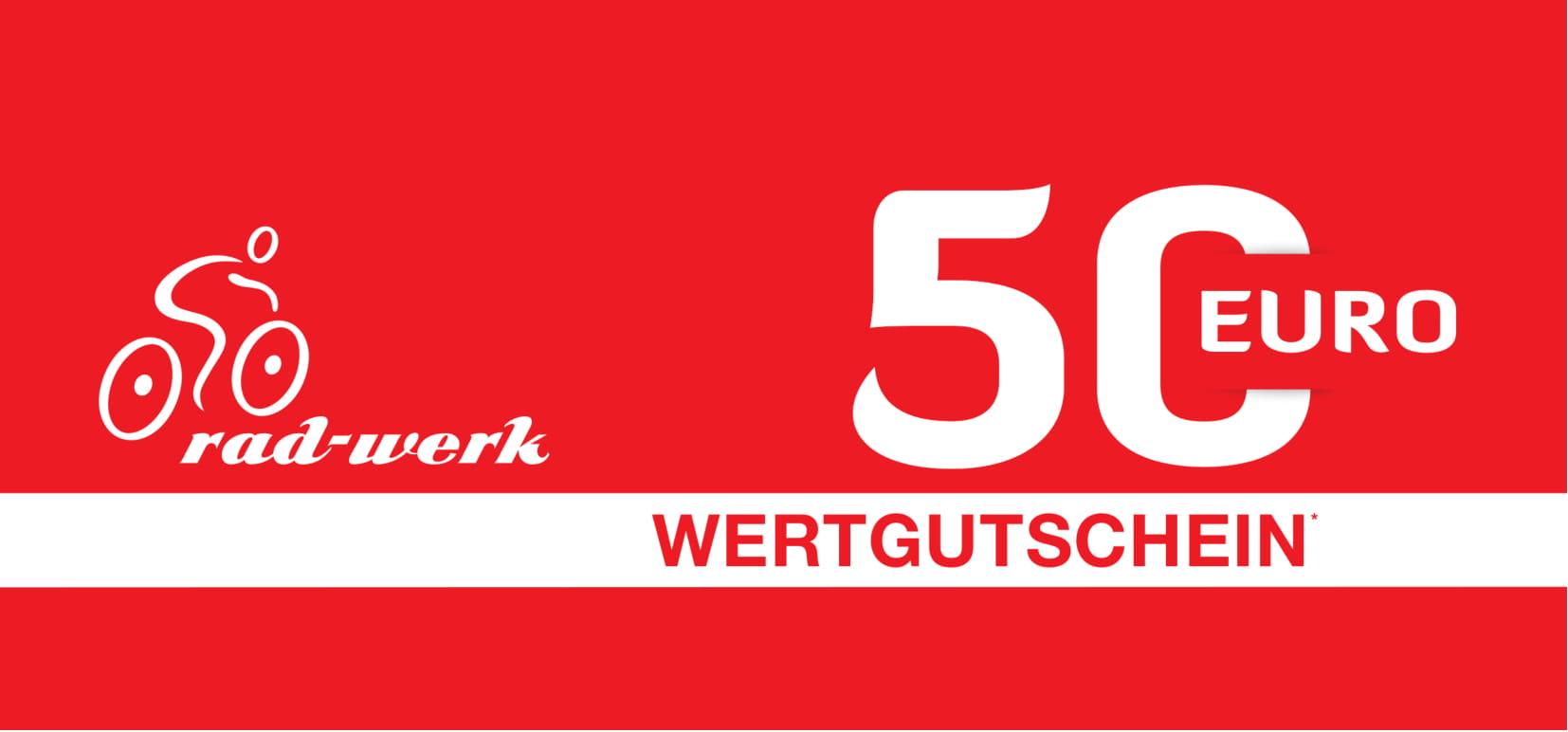 Gutschein 50 Rad-Werk Zingelmann