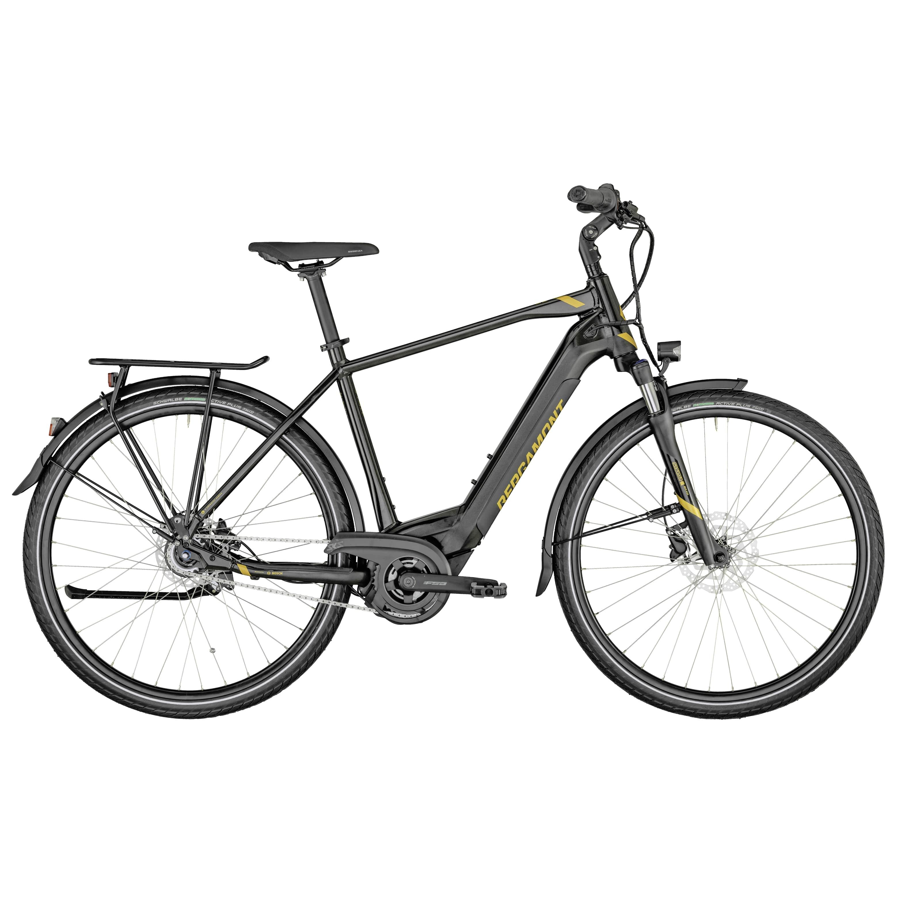 "BGM Bike E-Horizon N8 CB 500 Gent, Diamant, L56 - 500WH, Rücktritt, black gold dust, 28"", MJ2021"