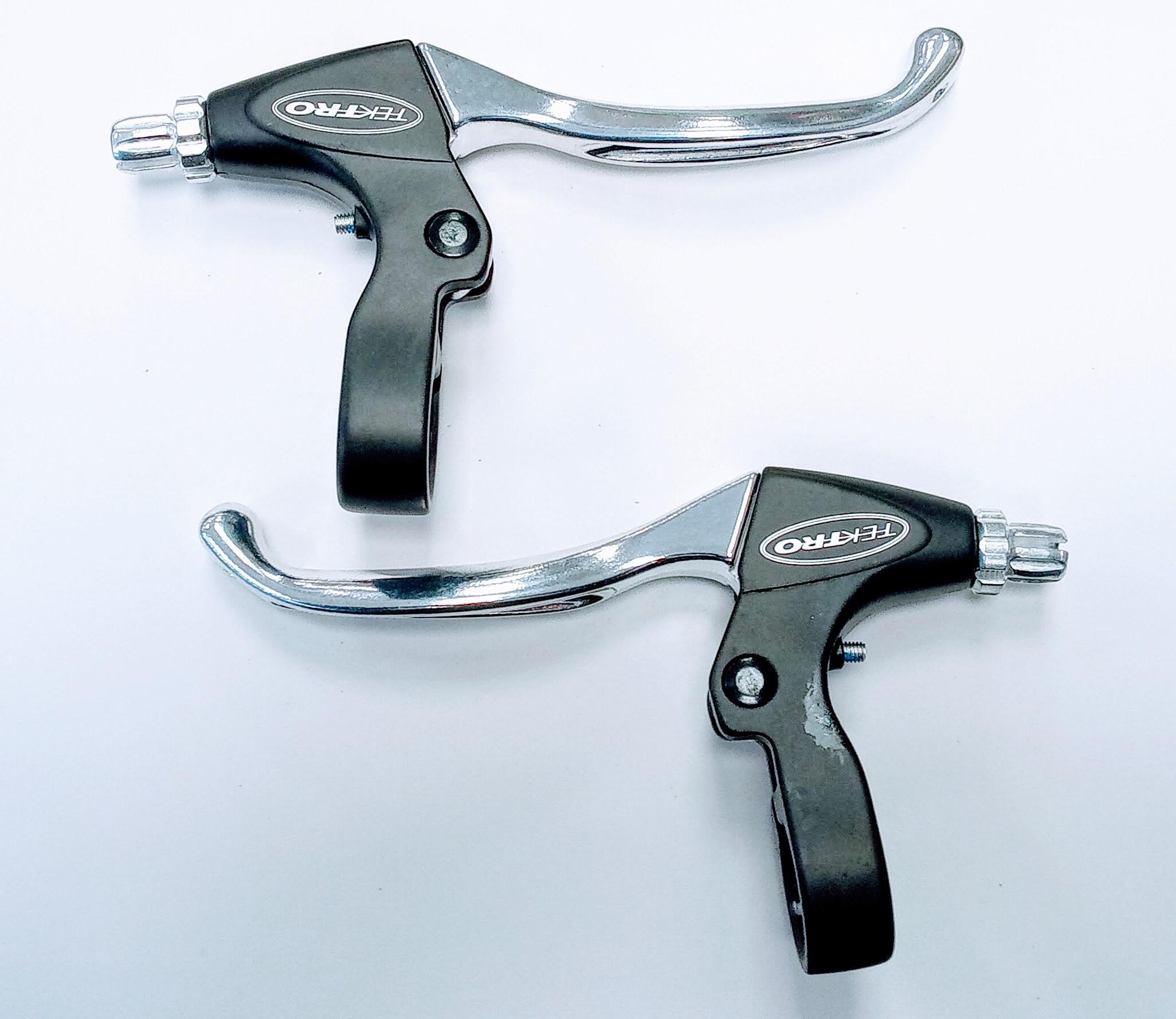 Bremshebel-Set Tektro Silber V-Brake -