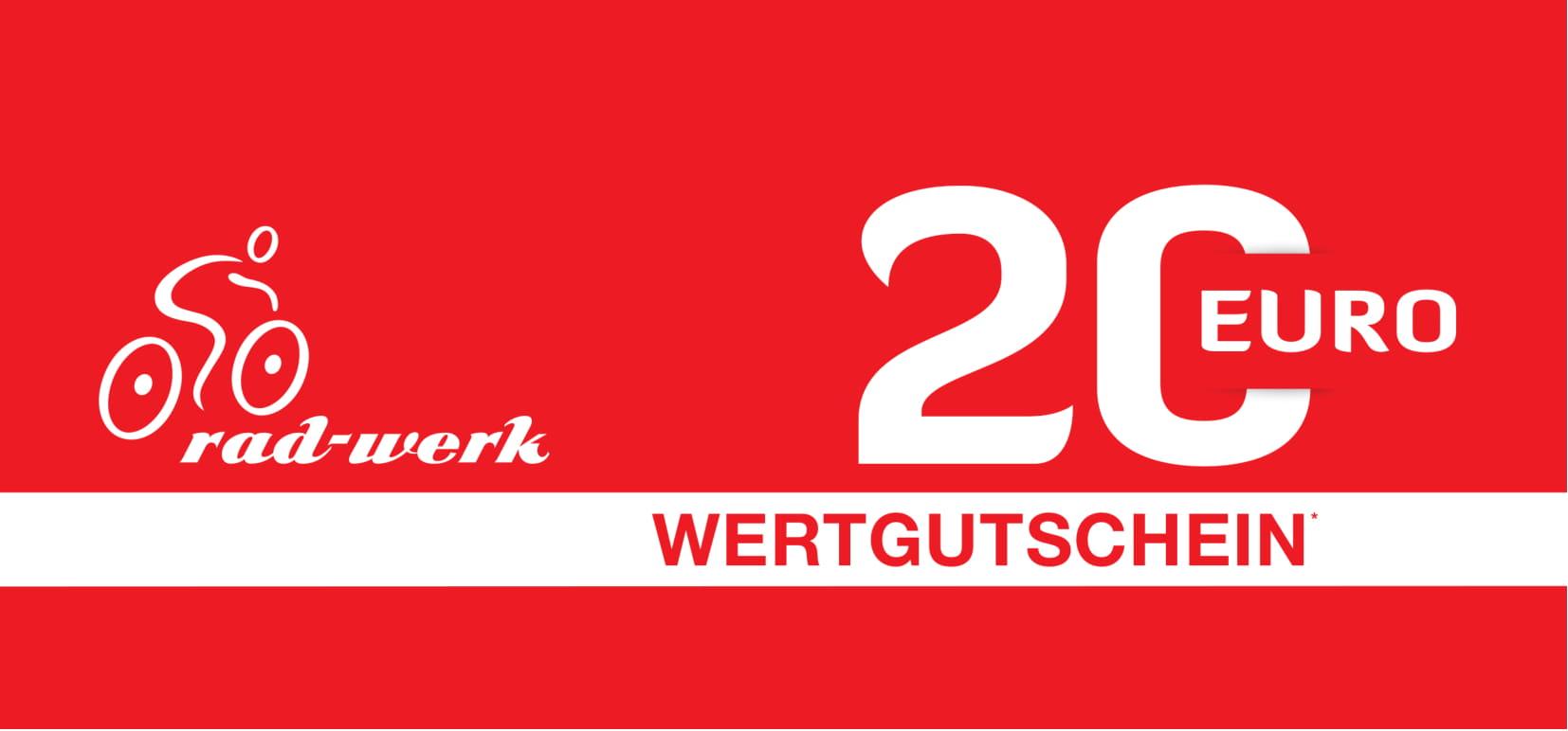 Gutschein 20 Rad-Werk Zingelmann